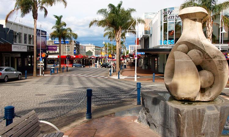 Tauranga Downtown
